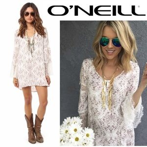 O'Neil Panama Shift Dress tapestry cotton Medium